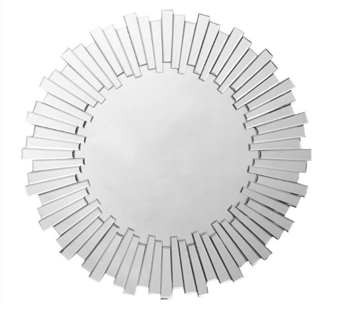Espejo redondo relieve E-100