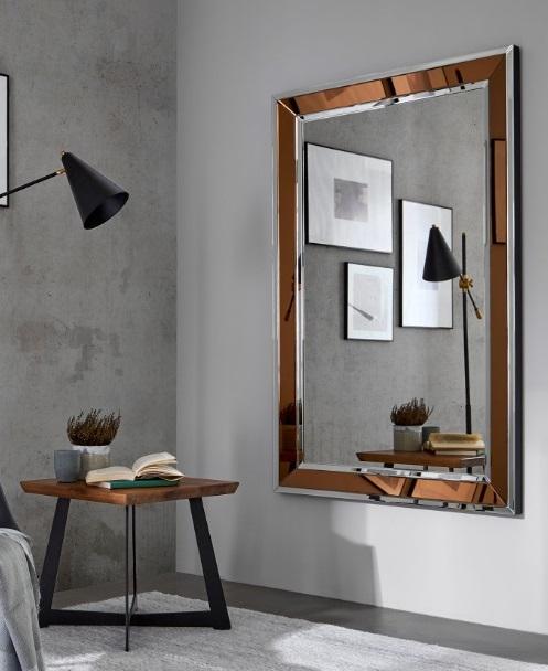 Espejo marco cobre E-133 160x100