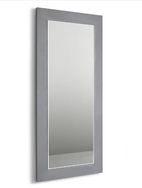 Espejo vestidor plata brillo 90x200 E-77
