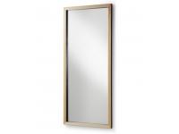 Espejo madera nordico negro 178x78