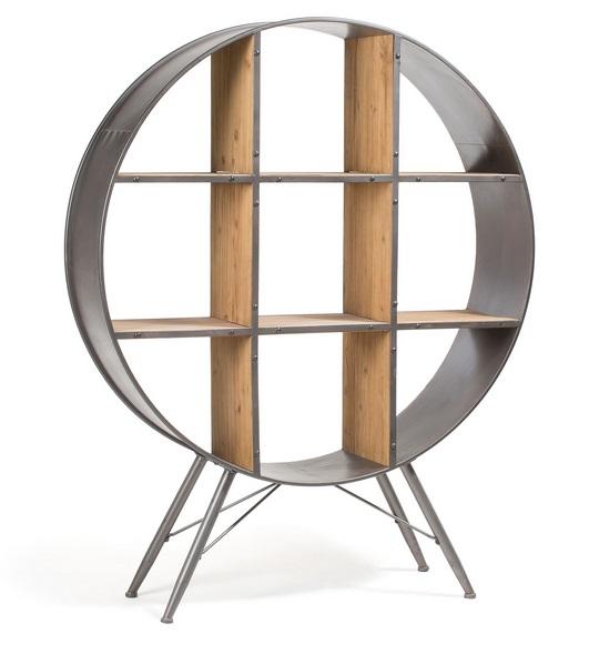Estanteria metalica industrial redonda 152x120