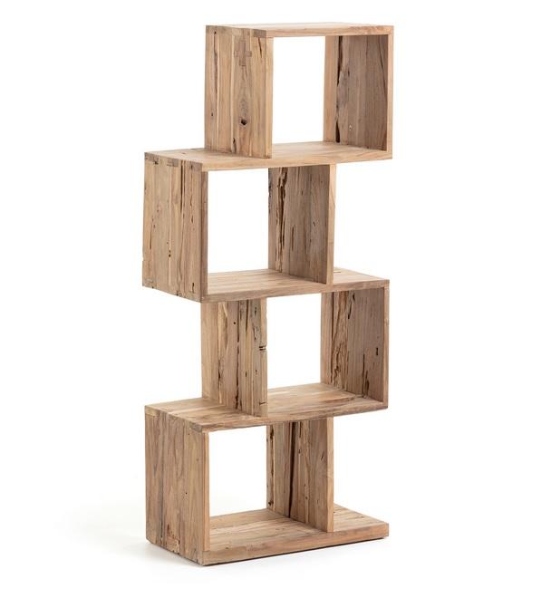 Estanteria madera teca Division 132x55