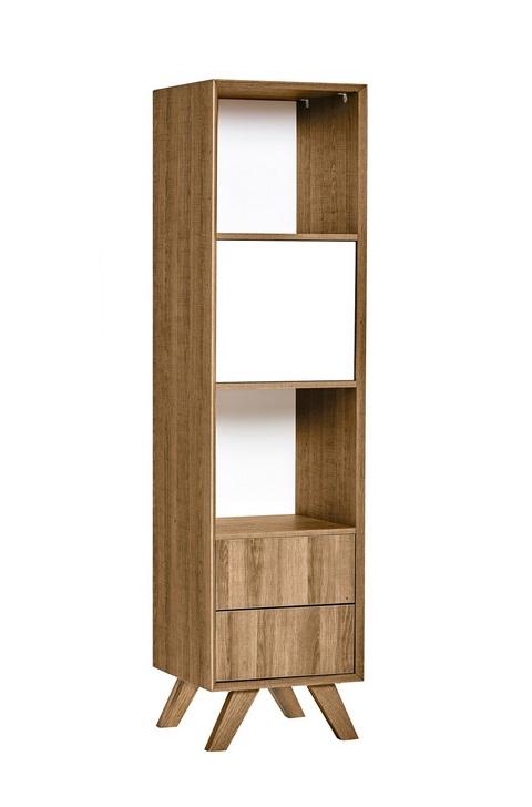Modulo estanteria Tivoli roble blanco 40x162