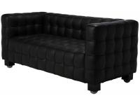 Sofa Kubus Negro 2 plazas