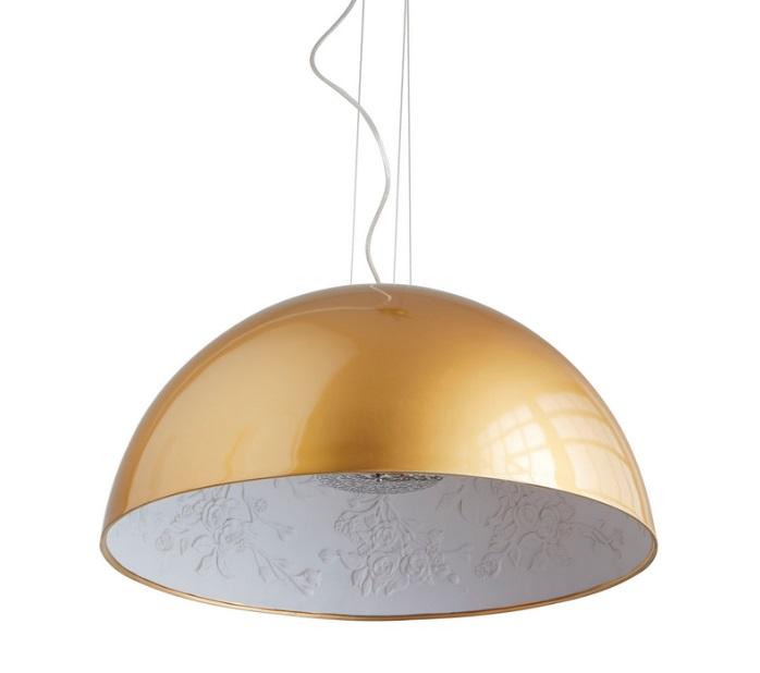 Lampara colgante skygarden dorada 59 cm