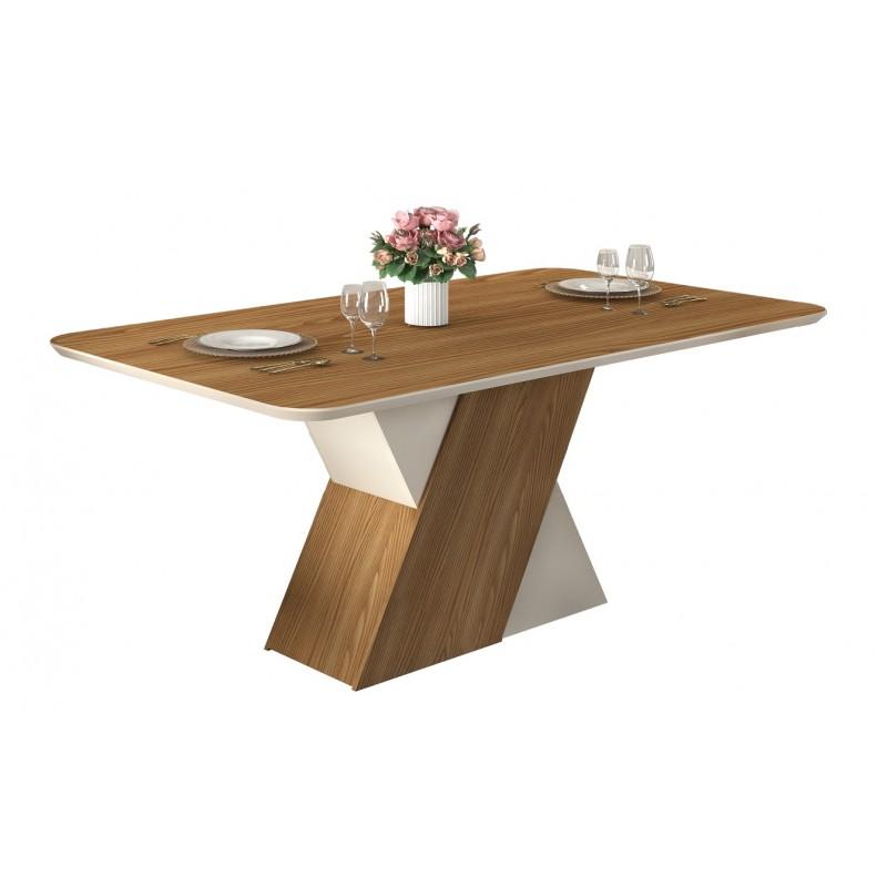Mesa de comedor Petra madera de roble 170x90 cm