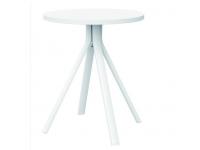 Mesa aluminio blanco Shine 60cm