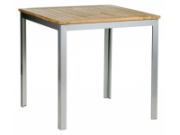 Mesa aluminio Teka 80x80