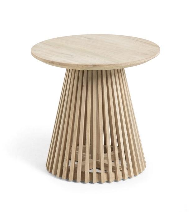 Mesa auxiliar art madera natural 50