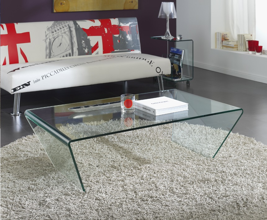 Mesa de centro cristal 120x70 CT-211