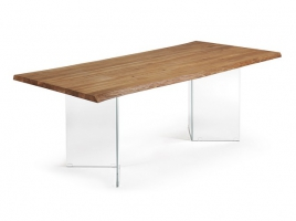 Mesa air roble 220x100