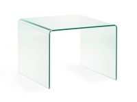 Mesa centro cristal templado 60x60