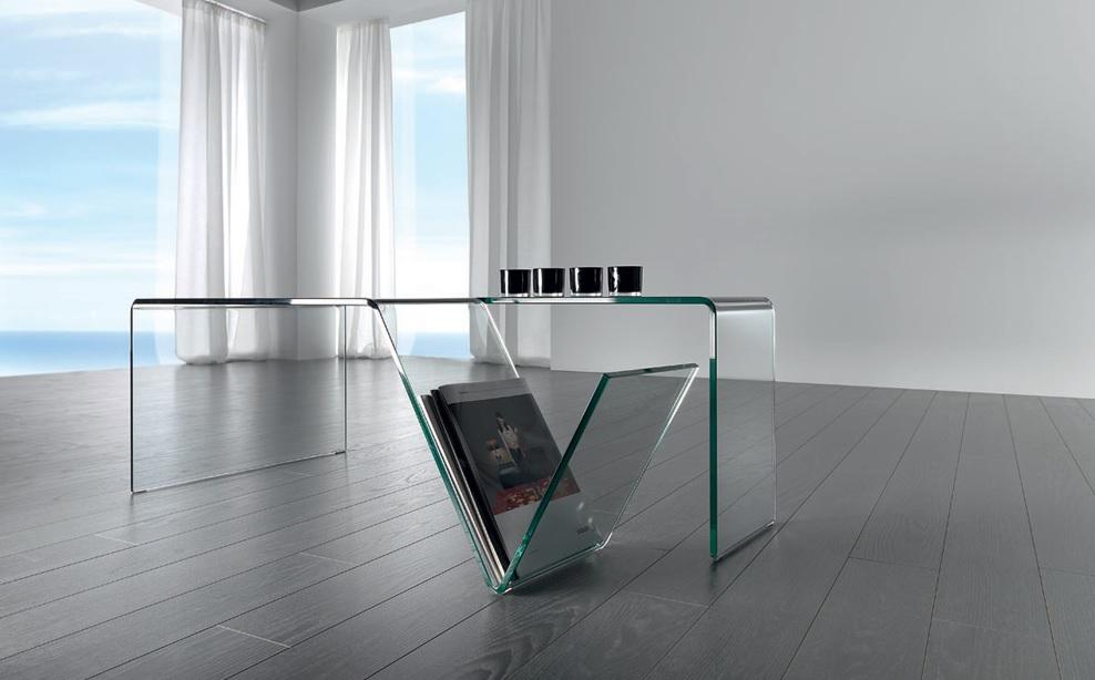 Mesa de centro Mirius cristal 120x60