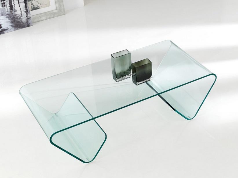 Mesa de centro Susi cristal 123x60