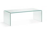 Mesa centro cristal templado 110x50