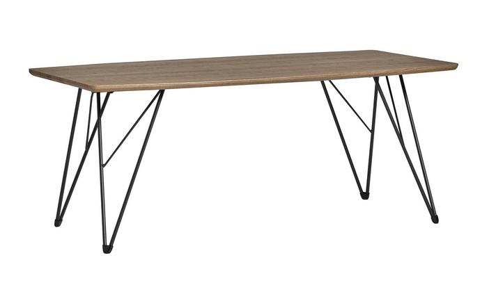 Mesa de centro jaca roble gris 110x60
