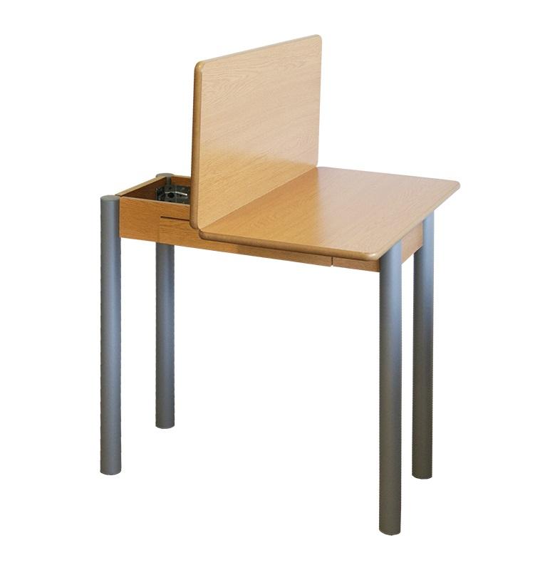 Mesa de cocina redonda extensible Pisa roble 80x40-80 cm