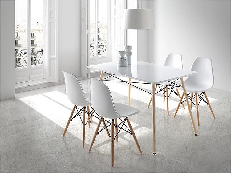 Mesa de cocina diana nordica 140x80