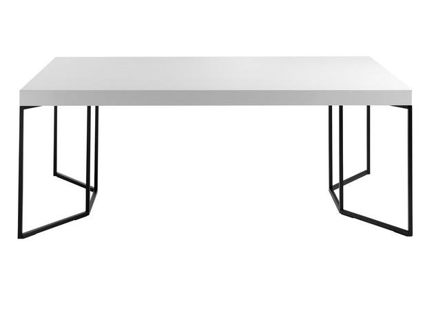 Mesa Neo blanco alto brillo 200x95cm