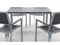 Mesa aluminio lamas Kind 130x80