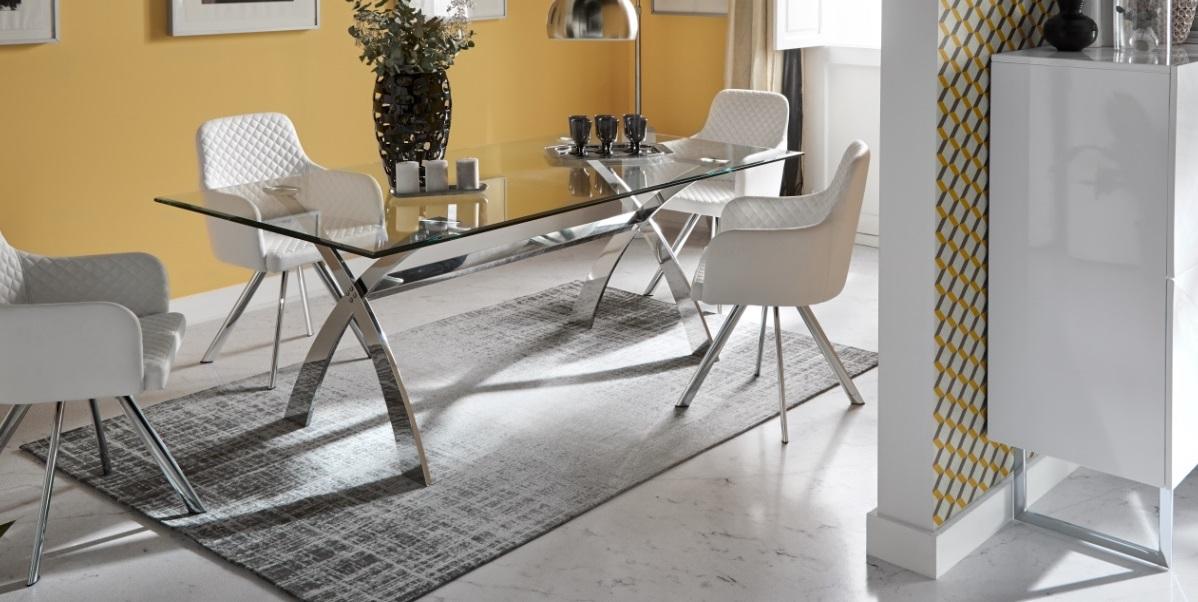 Conjunto de comedor mesa DT-18 sillas DC-112