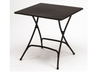 Mesa hierro plegable Pieghevole 80x80