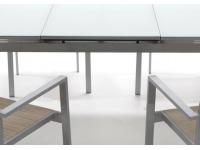 Mesa terraza extensible New Taha