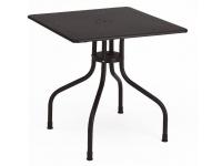 Mesa de jardin hierro Arturo 80x80