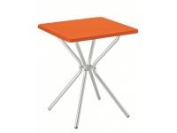 Mesa polipropileno Jimmy naranja