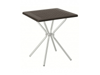 Mesa polipropileno Jimmy antracita 70x70
