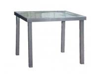 Mesa terraza aluminio Benidorm 90x90