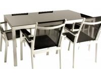 Mesa aluminio Black 160x90
