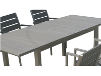 Mesa extensible aluminio lamas 160-220x90 Ohio
