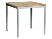 Mesa aluminio Teka 70x70