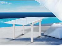 Mesa terraza extensible Formentera blanco 180