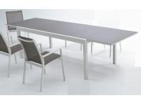 Mesa aluminio extensible Sky 200-300x100