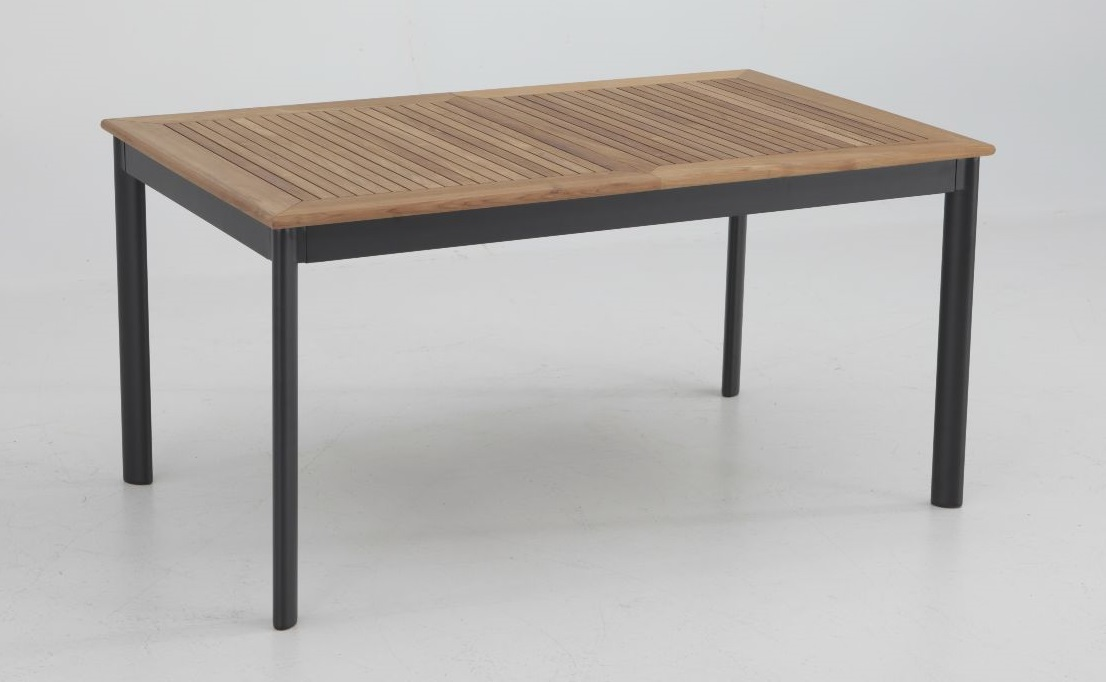 Mesa de terraza extensible Thule aluminio teka 152-210x90