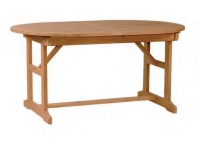 Mesa ovalada extensible madera Zeland