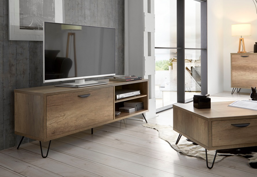 Mueble TV madera kansas TV-606 150cm