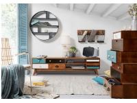 Mueble TV multicolor retro kaos
