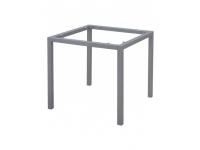 Pie aluminio gris mate 80x80 cm