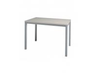 Pie de mesa aluminio 110x70 cm