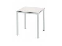 Pie aluminio blanco 80x80 cm