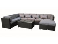 Set sofa Modular lounge rattan Kenia