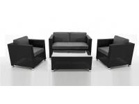 Set sofas rattan Kenia 4 plazas