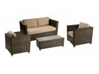 Set sofas rattan Garbi 4 plazas