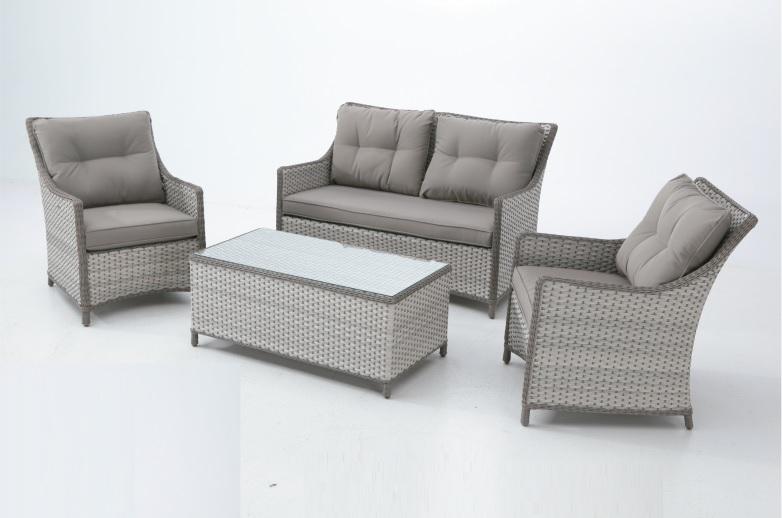 Set sofas terraza rattan nicosia