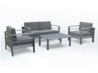 Set sofas de terraza inox Ohio