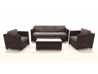 Set sofas rattan Kenia 5 plazas