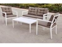 Conjunto sofas terraza aluminio Lodge